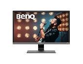 Монитор BenQ EL2870UE, TN, 27 inch, Wide, 4K, HDR, HDMI, DisplayPort Черен